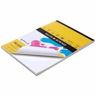 Бумага для акрила и масла