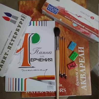 Бумага для черчения, рисования и графики