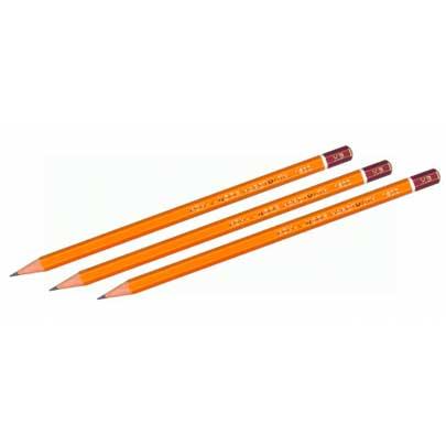 Чернографитные карандаши, стержни и прочее